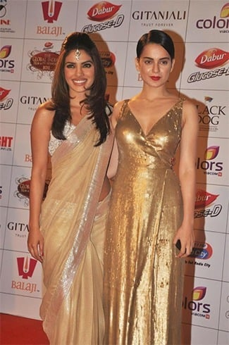 Priyanka and Kangana