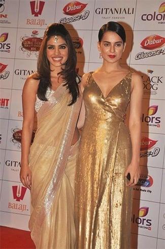 Priyanka and Kangana