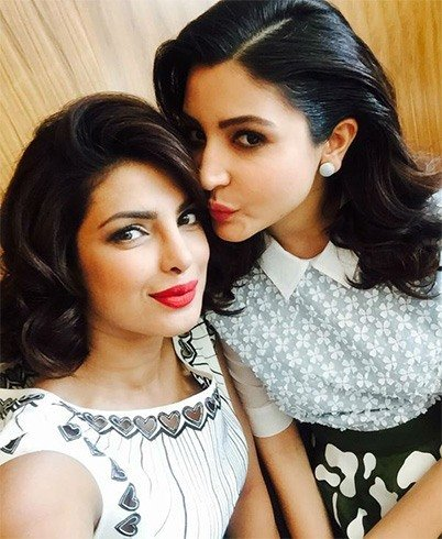 Priyanka Chopra and Anushka Sharma