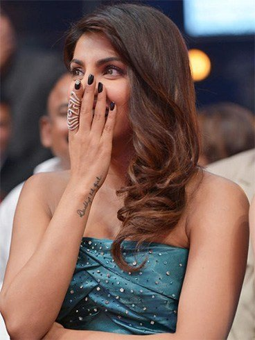 Priyanka Chopra nails
