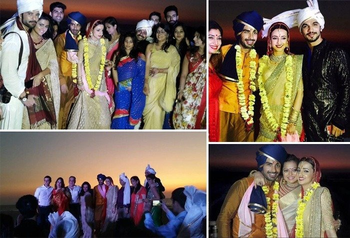 Sanaya Irani And Mohit Sehgal Wedding photos
