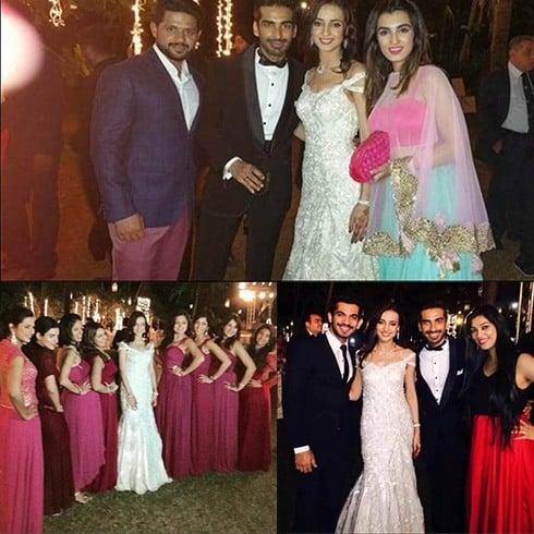 Sanaya Irani And Mohit Sehgal Reception