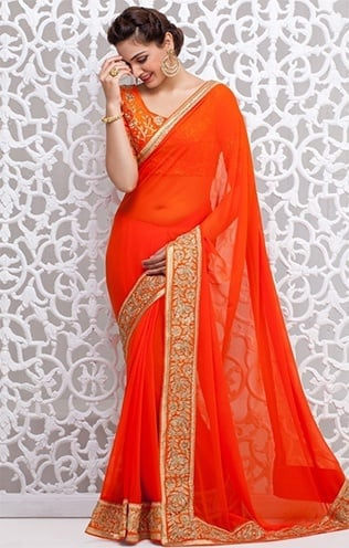 saree designs for teenagers