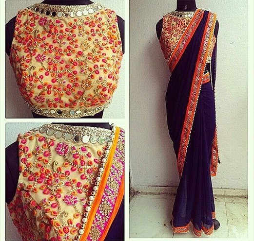 simple saree collection