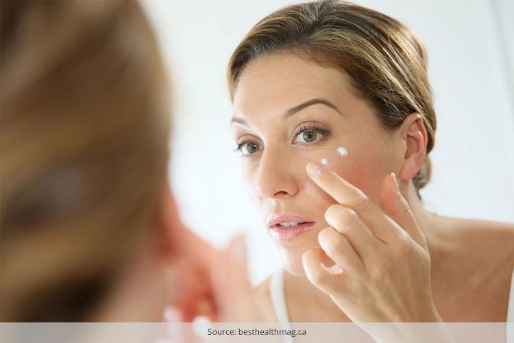 skin care regimen 40s