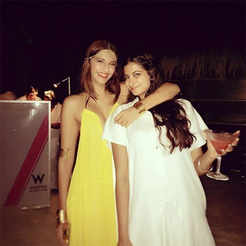 Sonam Kapoor yellow chloe maxi dress