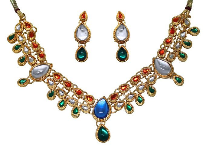 Tri Colour Jewellery