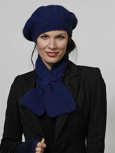 Ways to wear a beret