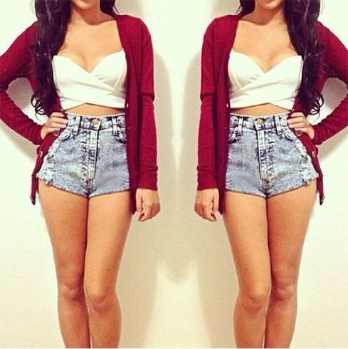 How To Wear High Waisted Shorts With Anything And Everything