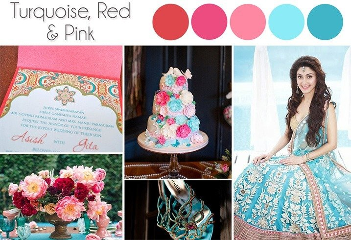 Wedding Color Palettes 2016