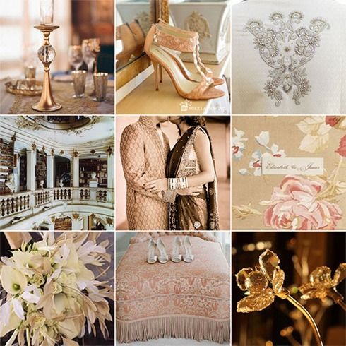 Wedding color palettes spring 2016