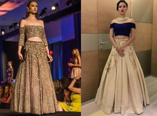 What To Wear Under A Wedding Lehenga