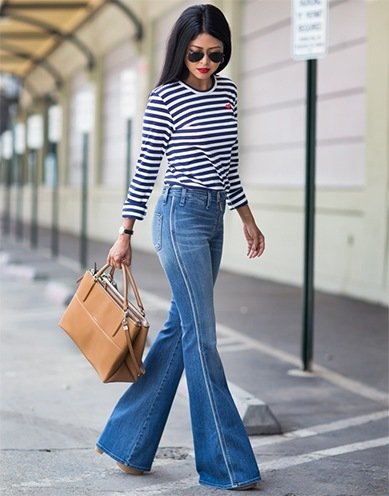 Wide Leg Denims