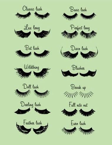 1960s Mascara And Eyelashes