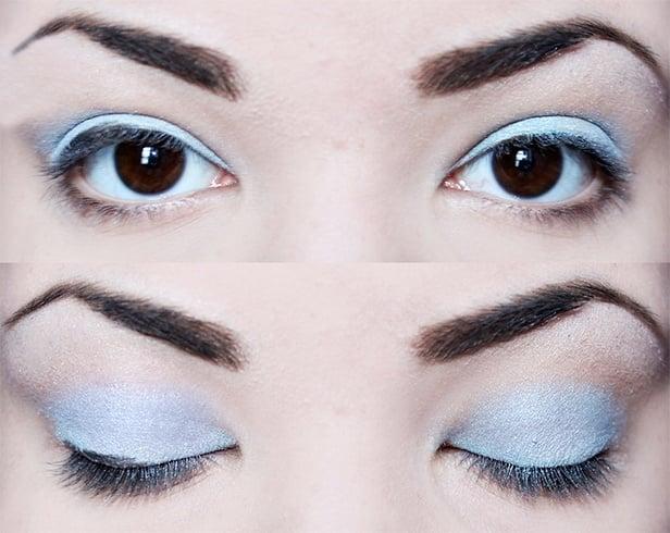 1960s mod eye makeup