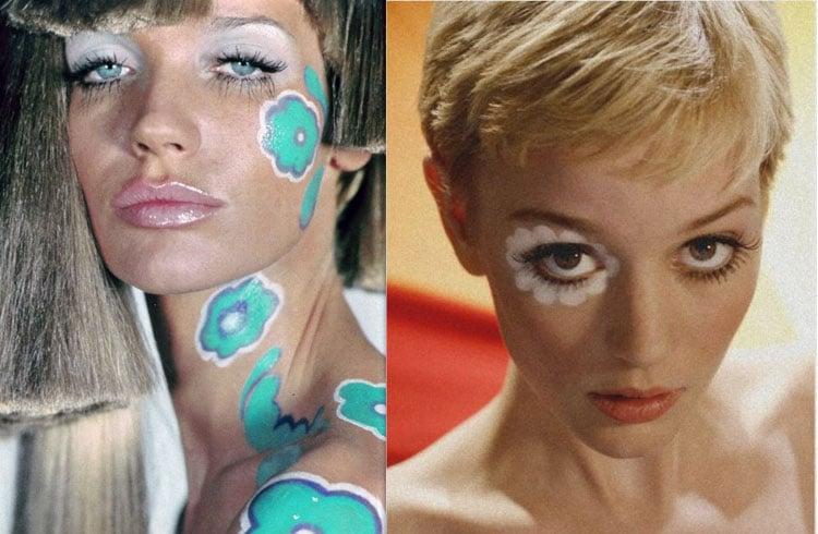60s Hippie Makeup