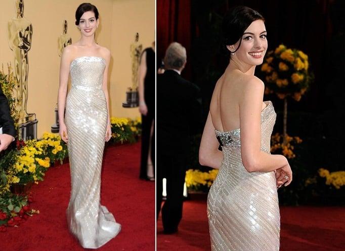 Anne Hathaway Dresses