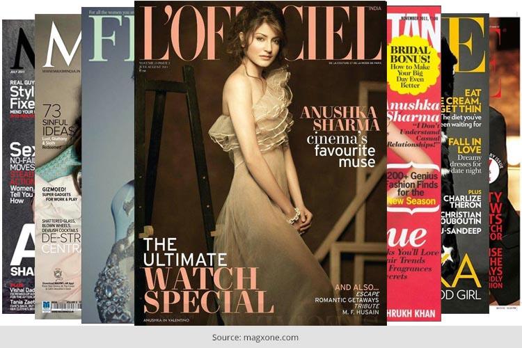 Anushka Sharma Magazine Cover