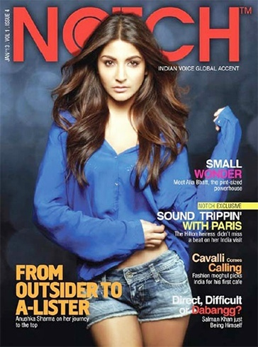 Anushka Sharma Magazine Covers
