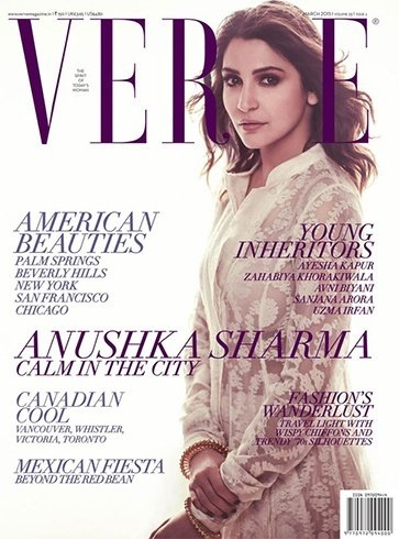 Anushka Sharma photoshoot for magazine cover