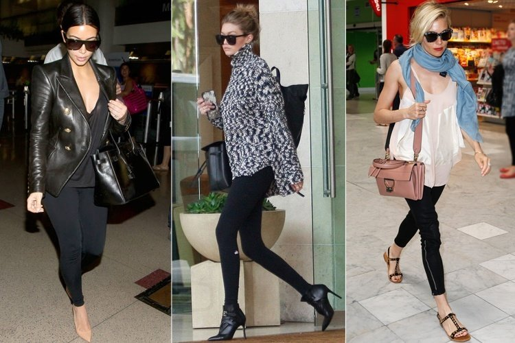 What To Wear With Black Leggings - Celeb Approved Suave Ways