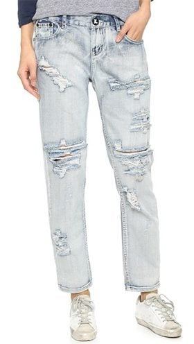 Bleaching Jeans for Womens