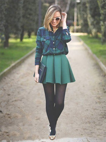 Flannel Shirt Outfits for Womens