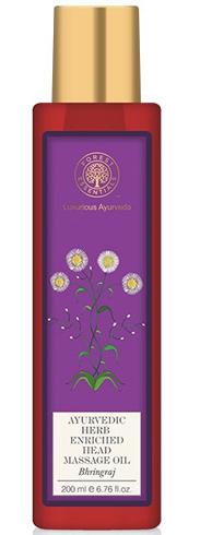 Forest Essentials Aurvedic Herb Enriched Head Massage Oil
