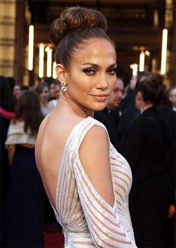 Jennifer Lopez Bun Hair Styles
