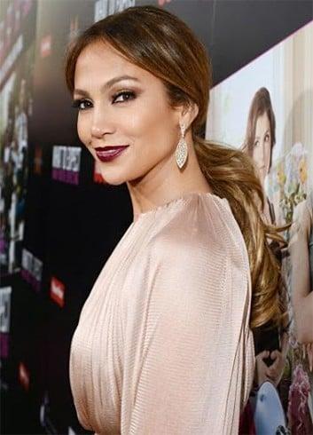 Jennifer Lopez Inspired High Half Pony