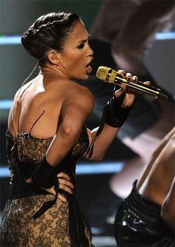 Jennifer Lopez Updos