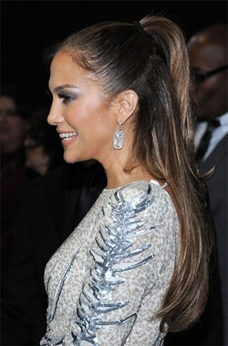 Jennifer Lopez ponytail hairstyles