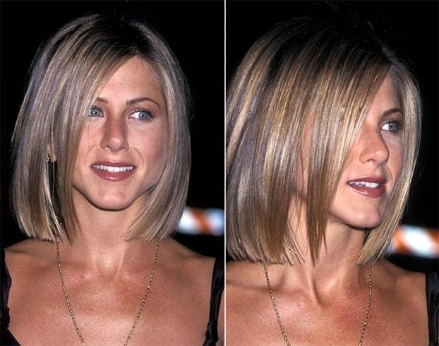 Jennifer aniston blunt cut