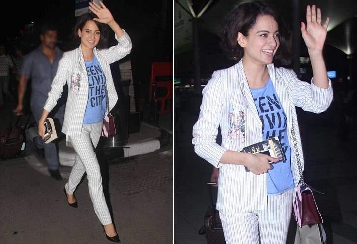 Kangana Pant Suit by Sachin and Babi