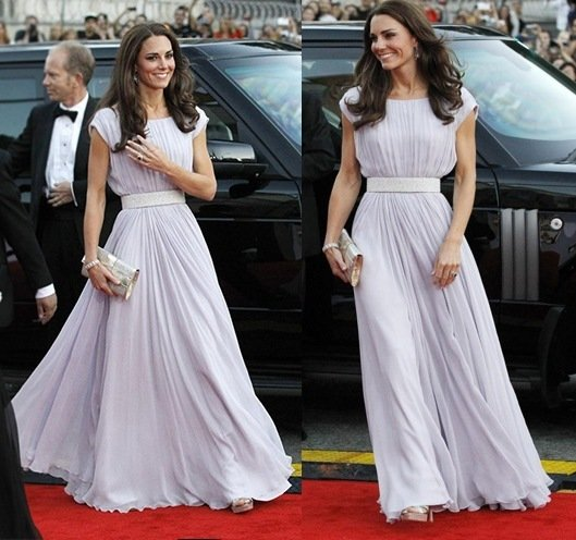 Kate Middleton Alexander McQueen gown