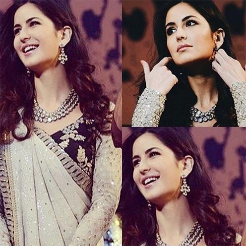 Katrina kundan jewellery pieces