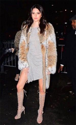 Kendall Jenner Street Fashion At NYFW 2016