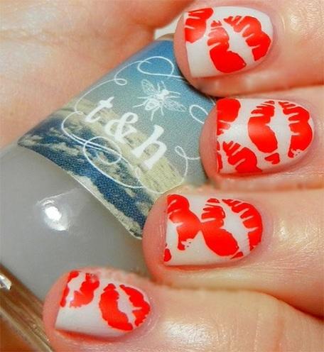 Kiss nails design