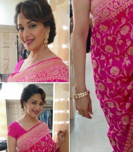 Madhuri Dixit Earrings and Bracelet