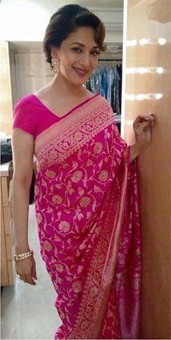 Madhuri Dixit Saree