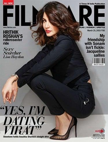 Magazine Cover of Anushka Sharma