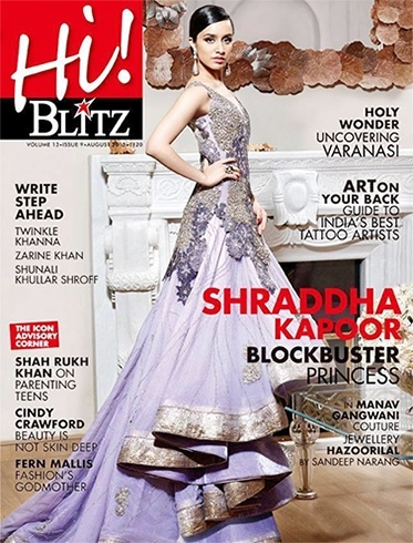 Shraddha Kapoor Glams Up For A Magazine Cover