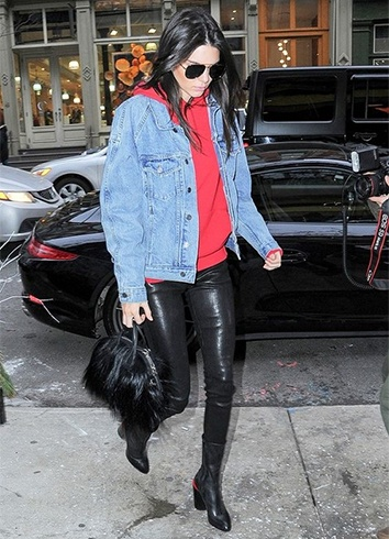 Streetstyles of Kendall Jenner