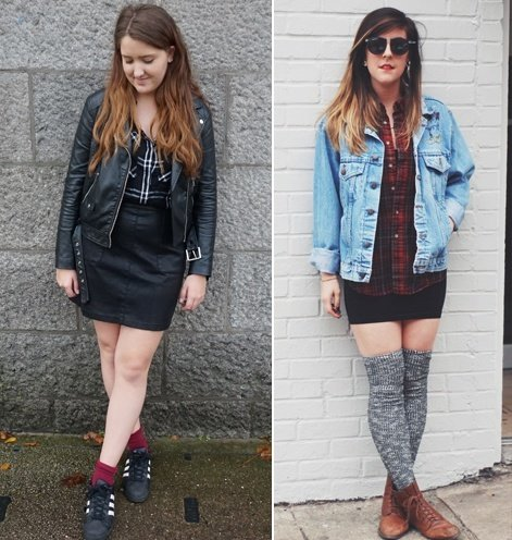 Womens Flannel Shirt Outfits