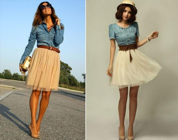 Creative Women Tiered Skirts Short Skirt Under Safety Pants Undie Underwear