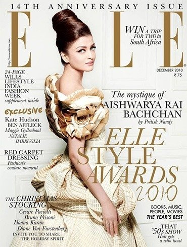 Aishwarya Rai on Elle