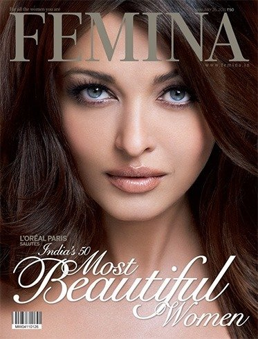 Aishwarya Rai on Femina