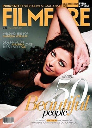 Aishwarya Rai on Filmfare