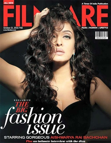 Aishwarya Rai On The Magazine Cover Page