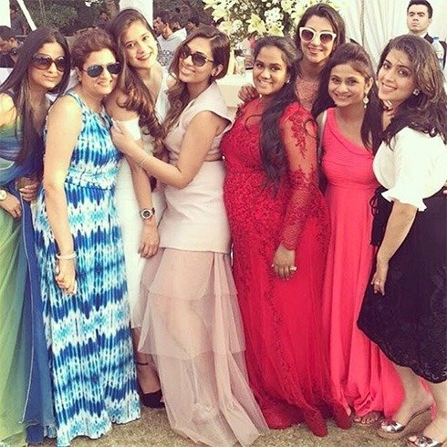 Arpita with her friends